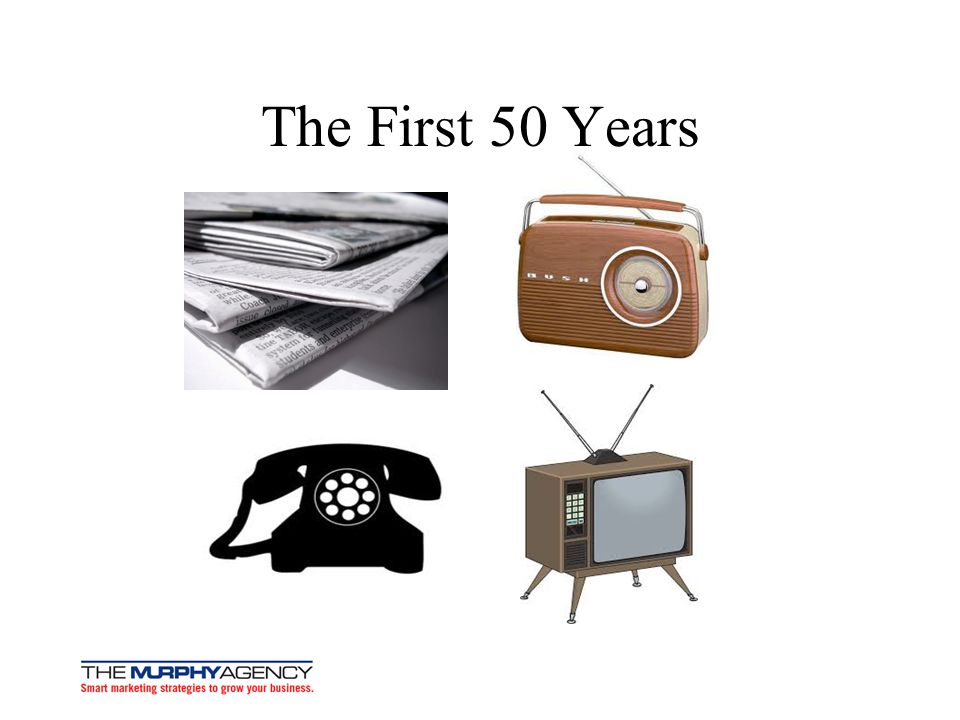 The First 50 Years