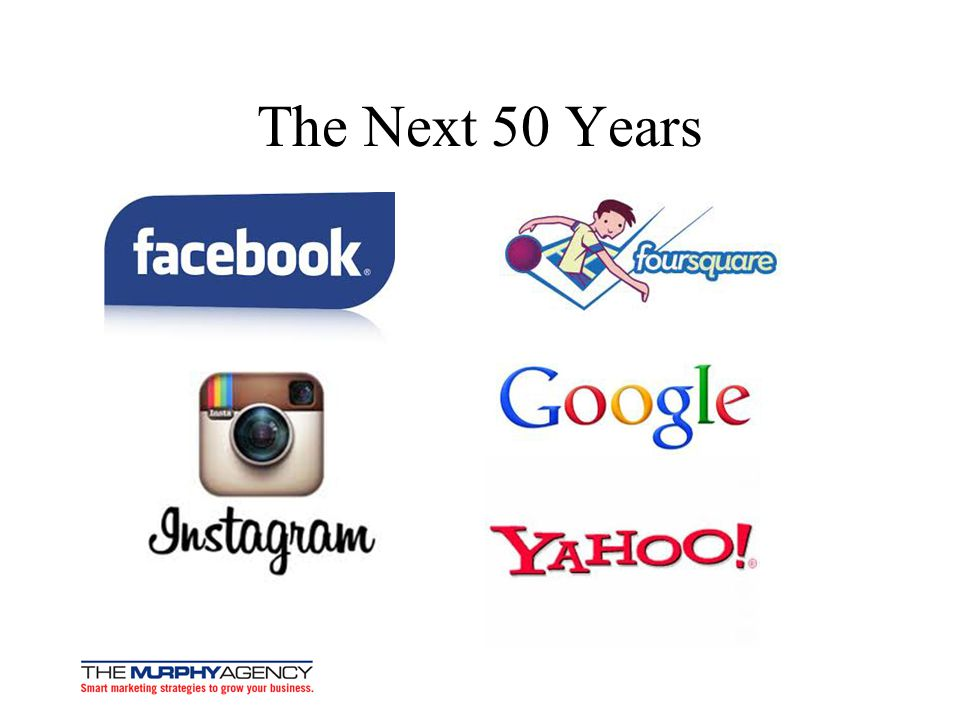 The Next 50 Years