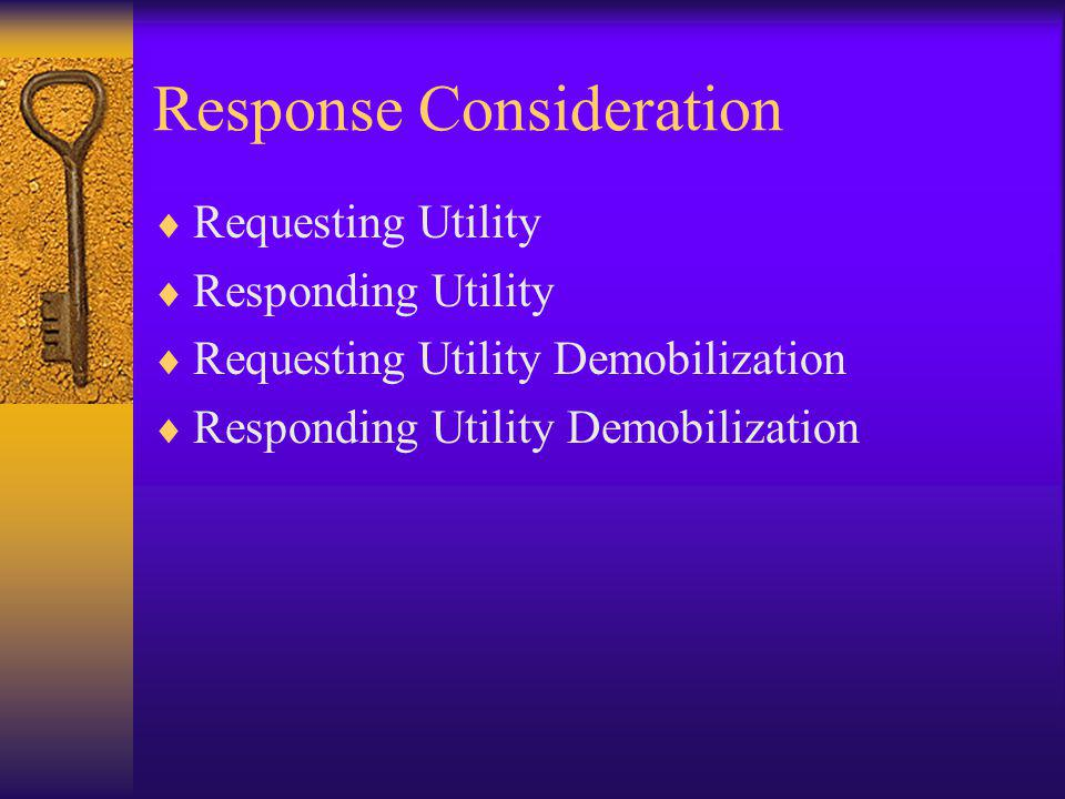 Response Consideration