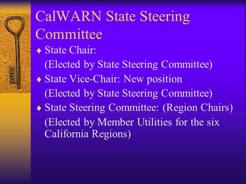 CalWARN State Steering Committee
