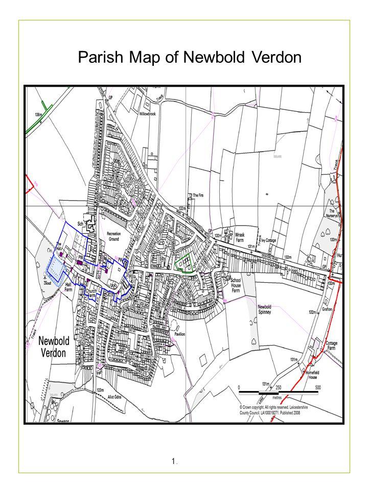 Parish Map of Newbold Verdon