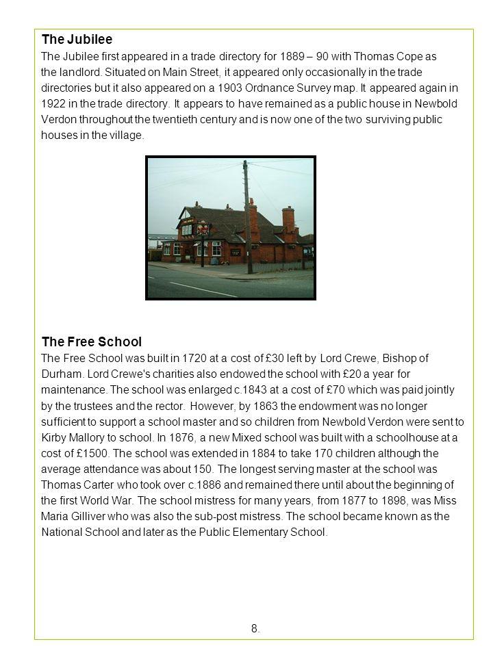 The Jubilee The Free School