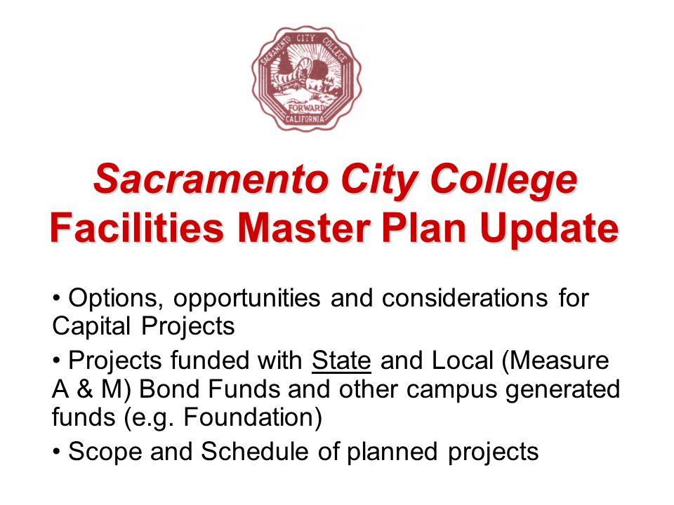 Sacramento City College Facilities Master Plan Update