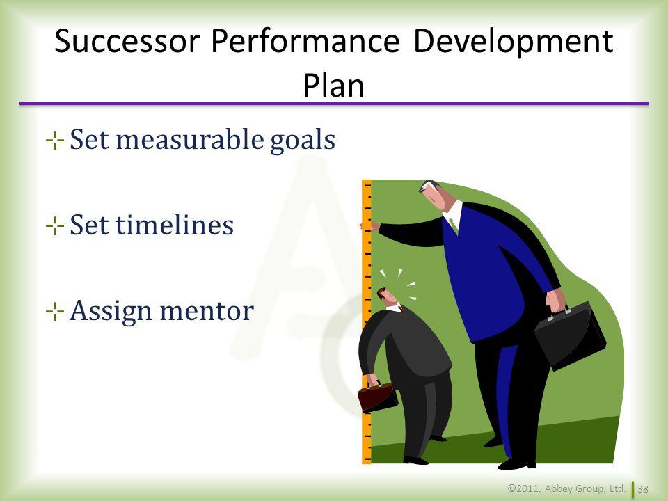 Successor Performance Development Plan
