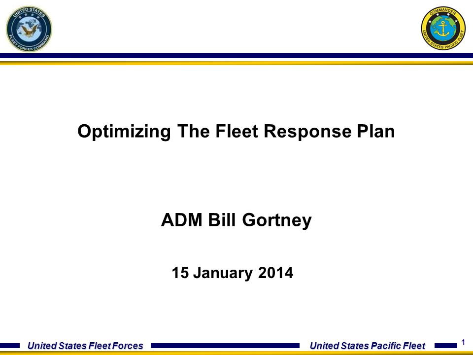 Optimizing The Fleet Response Plan