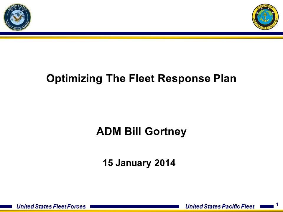 Optimizing The Fleet Response Plan