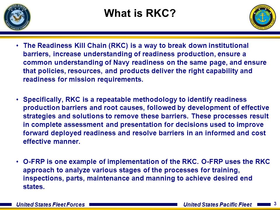 What is RKC