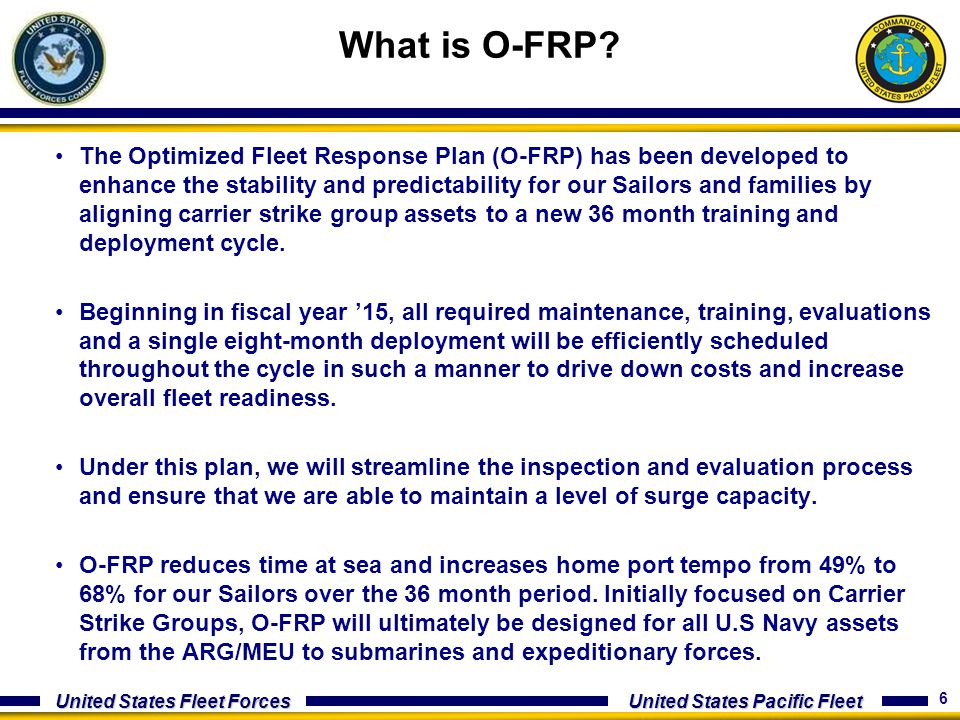 What is O-FRP