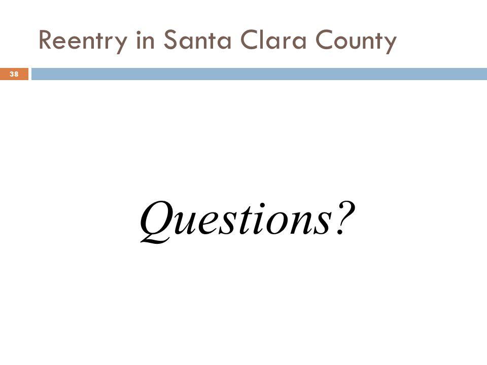 Reentry in Santa Clara County