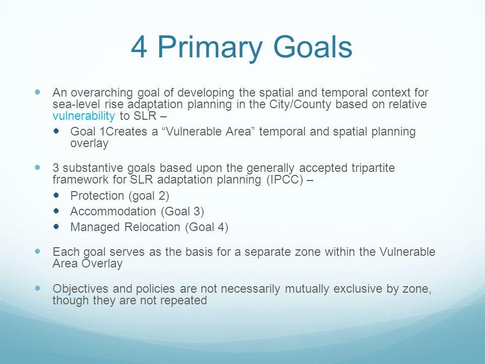 4 Primary Goals