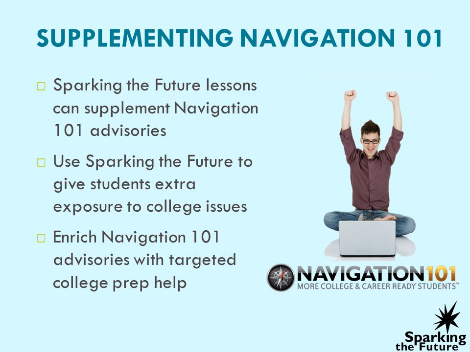 SUPPLEMENTING NAVIGATION 101