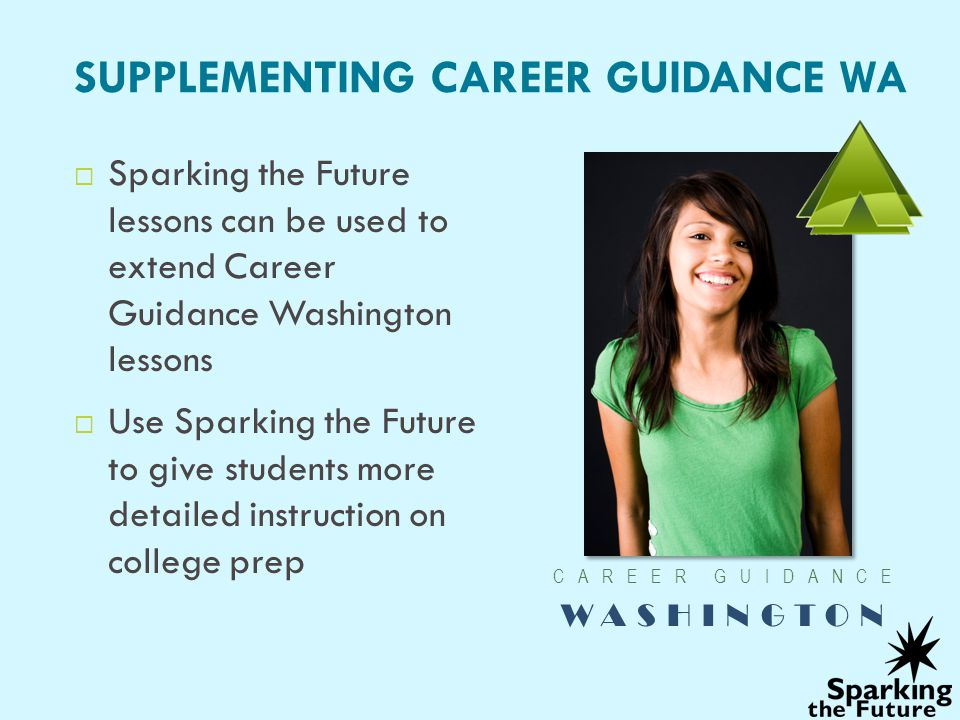 SUPPLEMENTING CAREER GUIDANCE WA