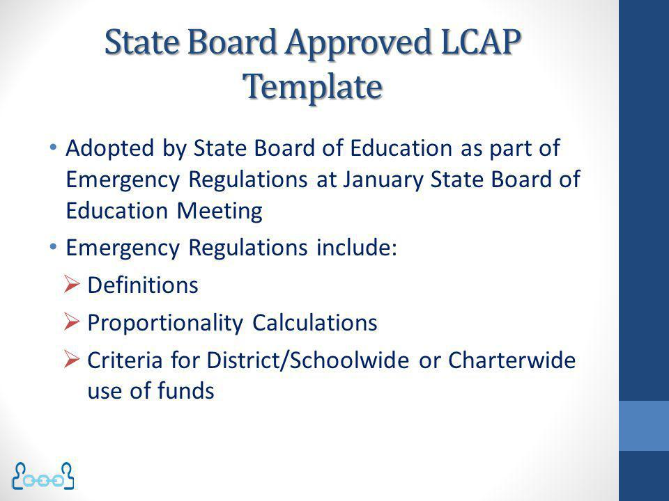 State Board Approved LCAP Template
