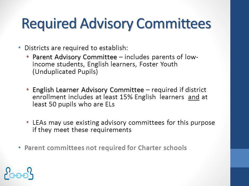Required Advisory Committees