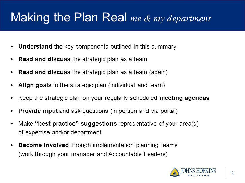 Johns Hopkins Medicine Strategic Plan - Ppt Video Online Download