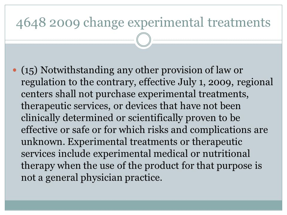 4648 2009 change experimental treatments