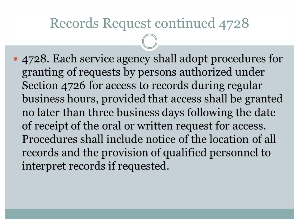 Records Request continued 4728