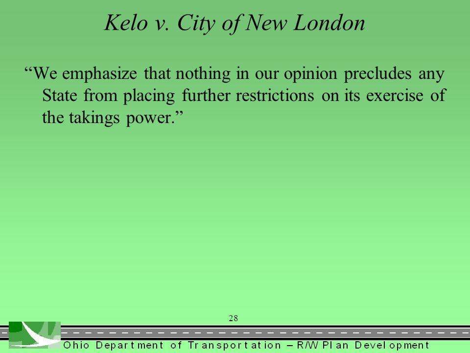 Kelo v. City of New London