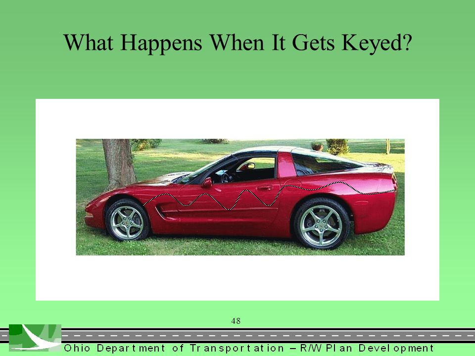 What Happens When It Gets Keyed