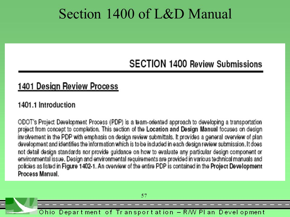 Section 1400 of L&D Manual