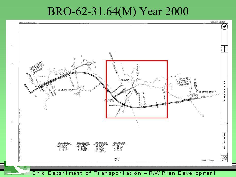 BRO-62-31.64(M) Year 2000