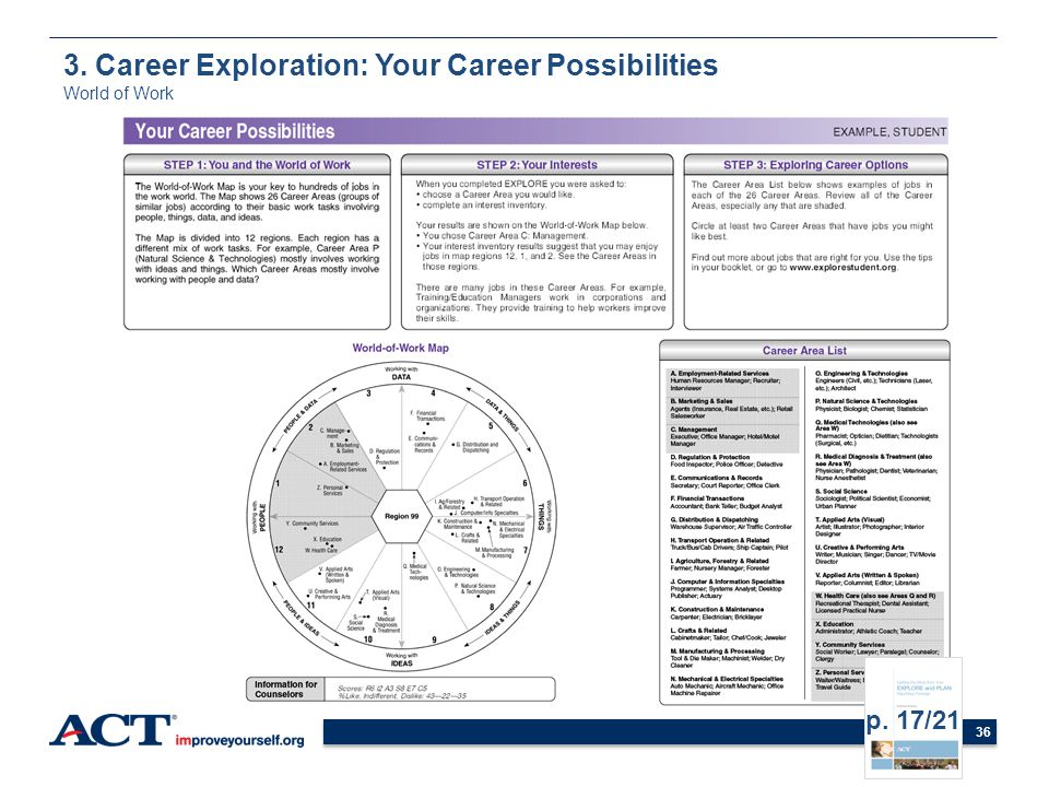 3. Career Exploration: Your Career Possibilities