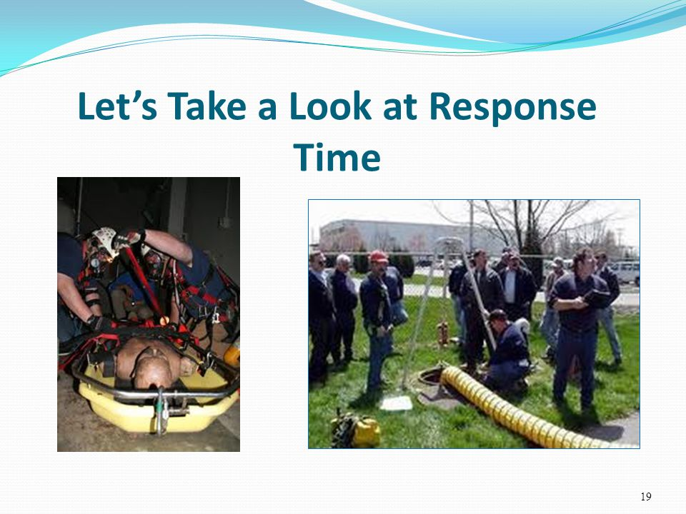 Let's Take a Look at Response Time