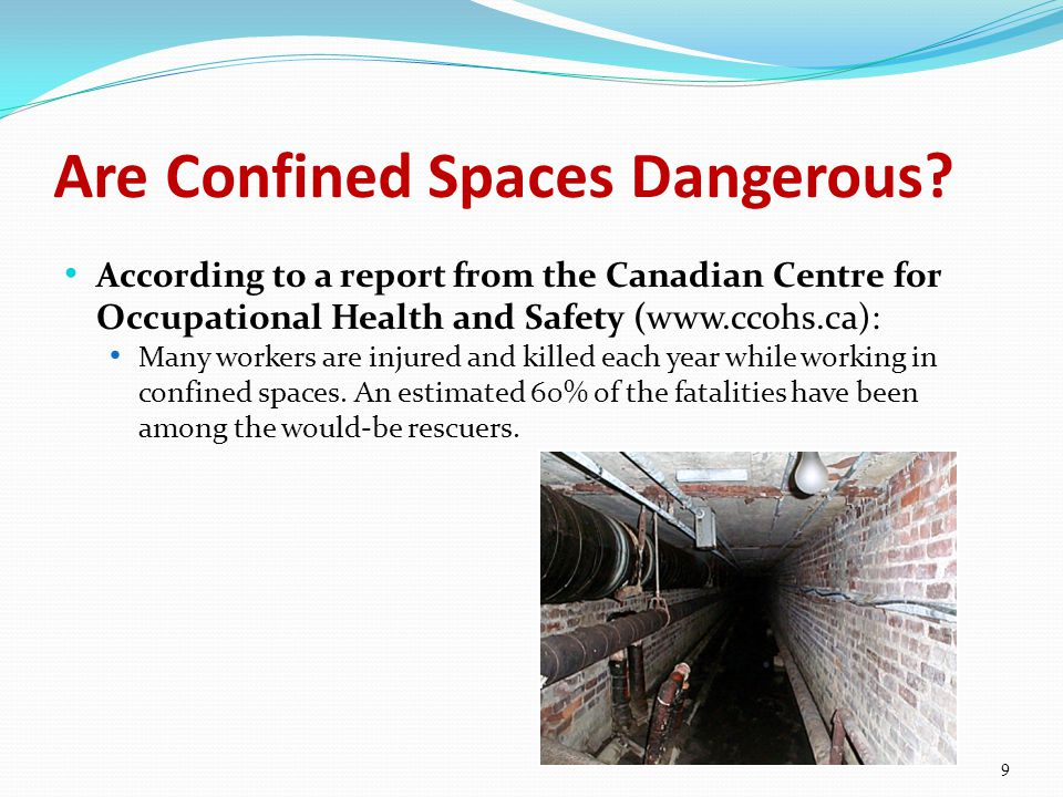 Are Confined Spaces Dangerous