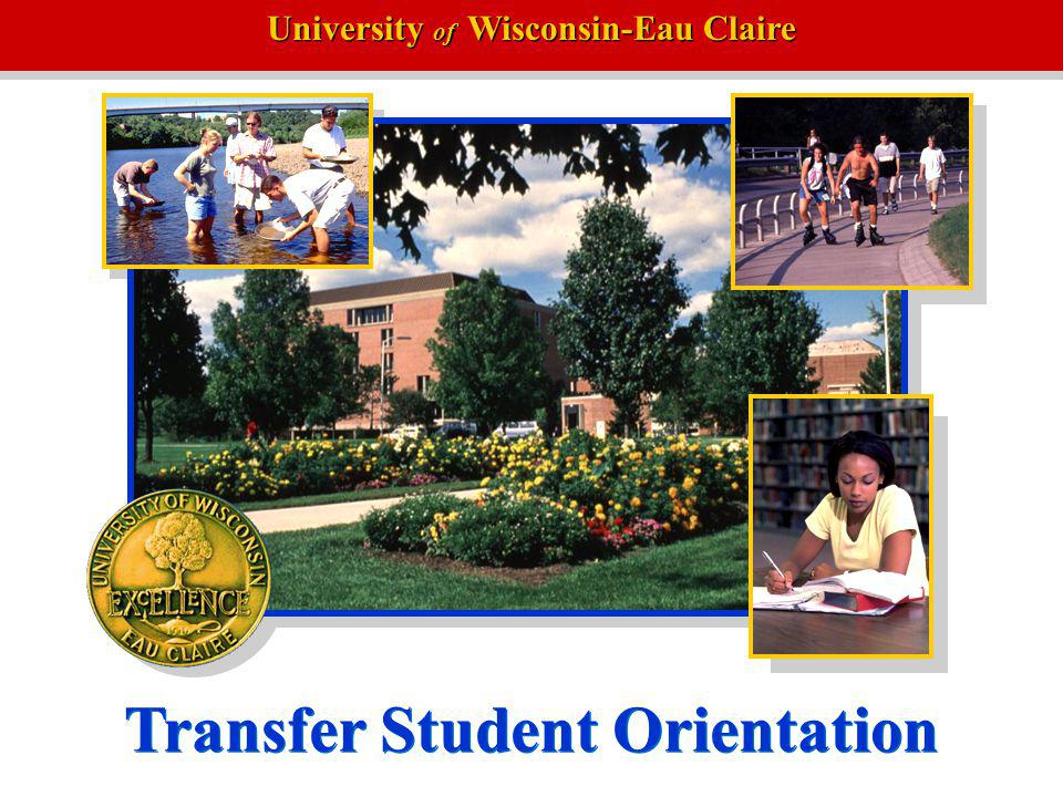 University of Wisconsin-Eau Claire Transfer Student Orientation
