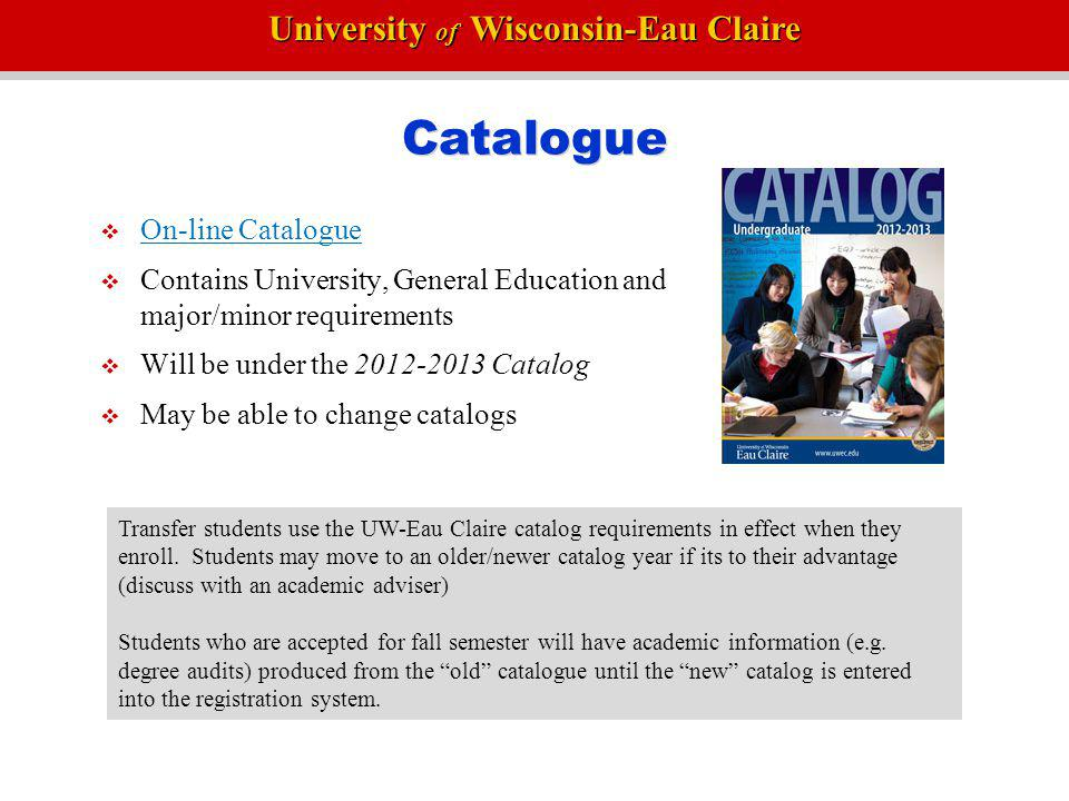 Catalogue On-line Catalogue
