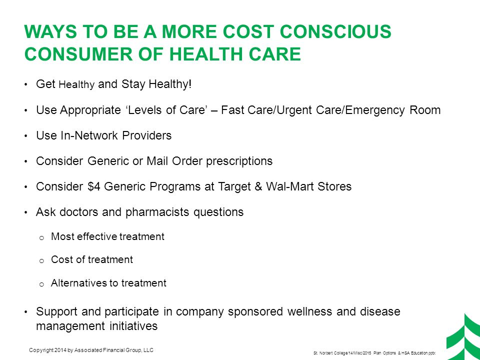 Convenience – Walk-In Care Clinic