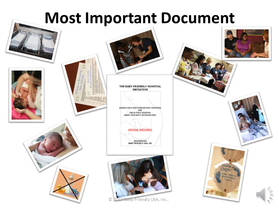 Most Important Document
