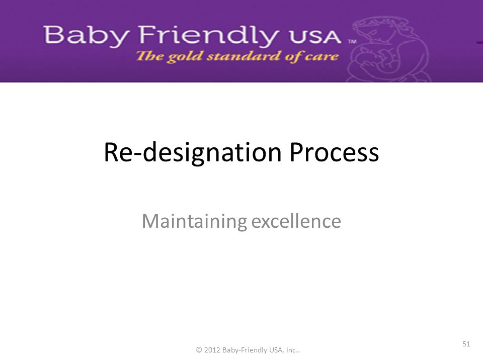 Re-designation Process
