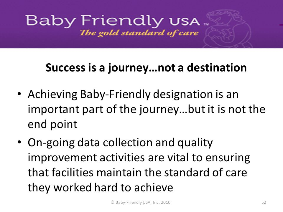 Success is a journey…not a destination