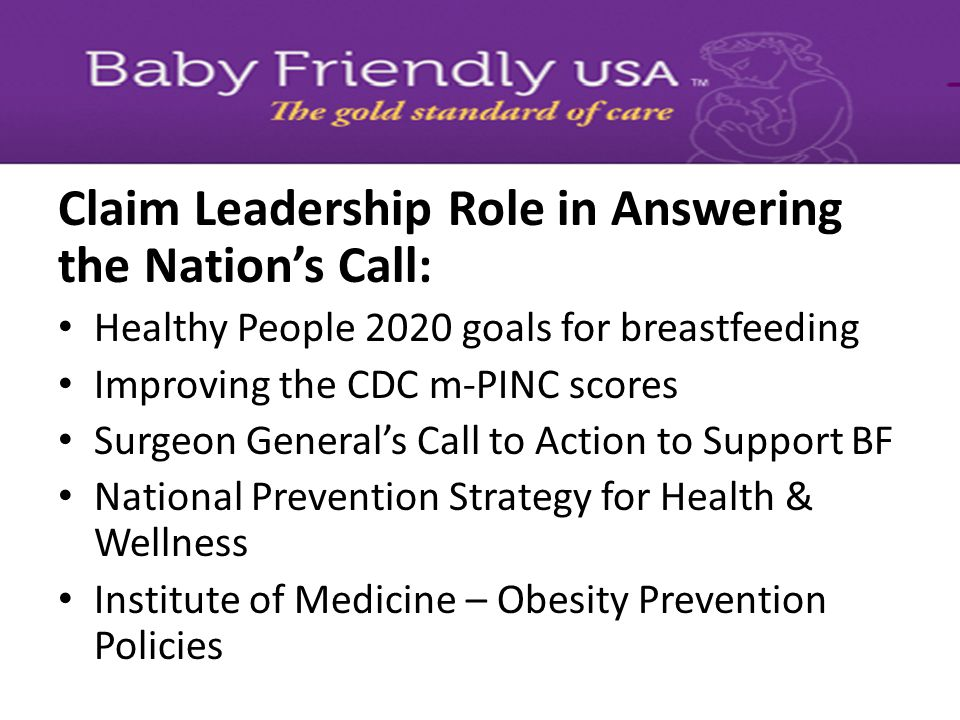 Claim Leadership Role in Answering the Nation's Call: