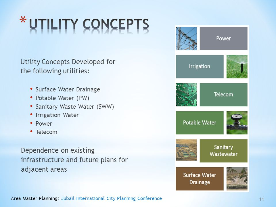 UTILITY CONCEPTS Utility Concepts Developed for