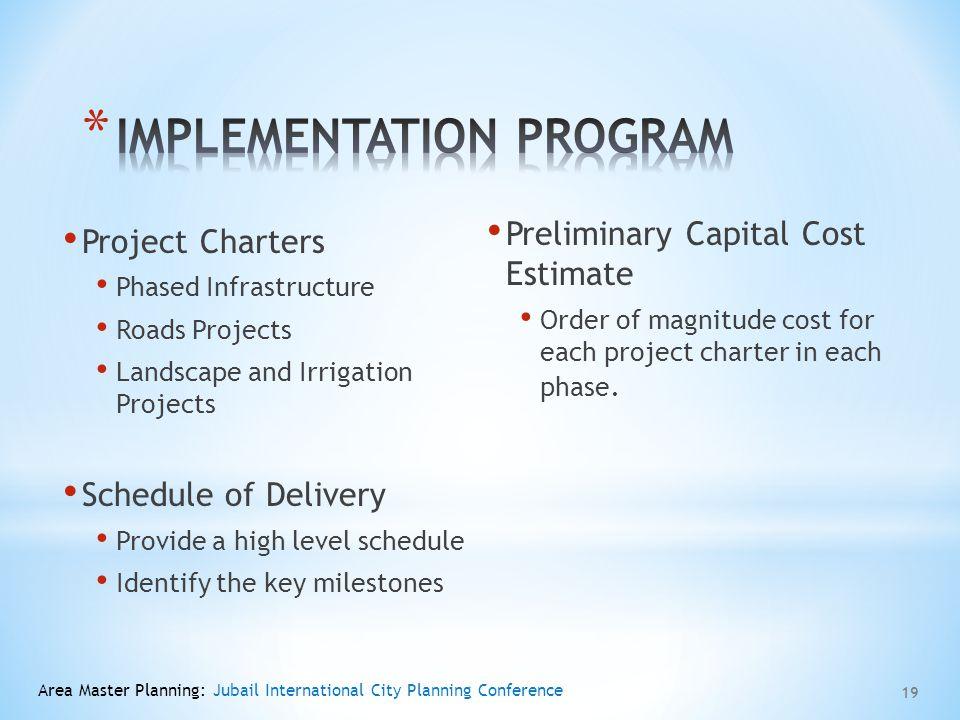 Implementation Program