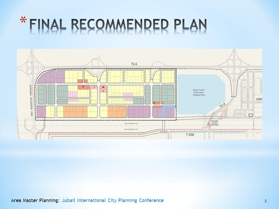 FINAL RECOMMENDED PLAN