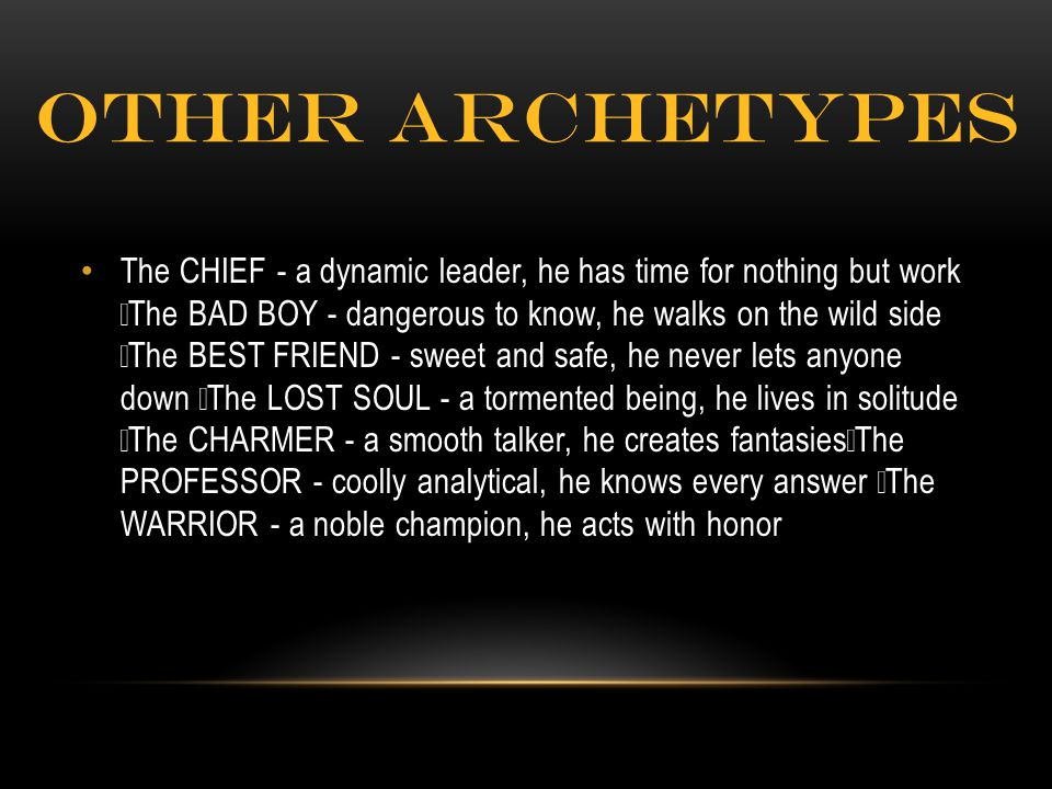 Other archetypes