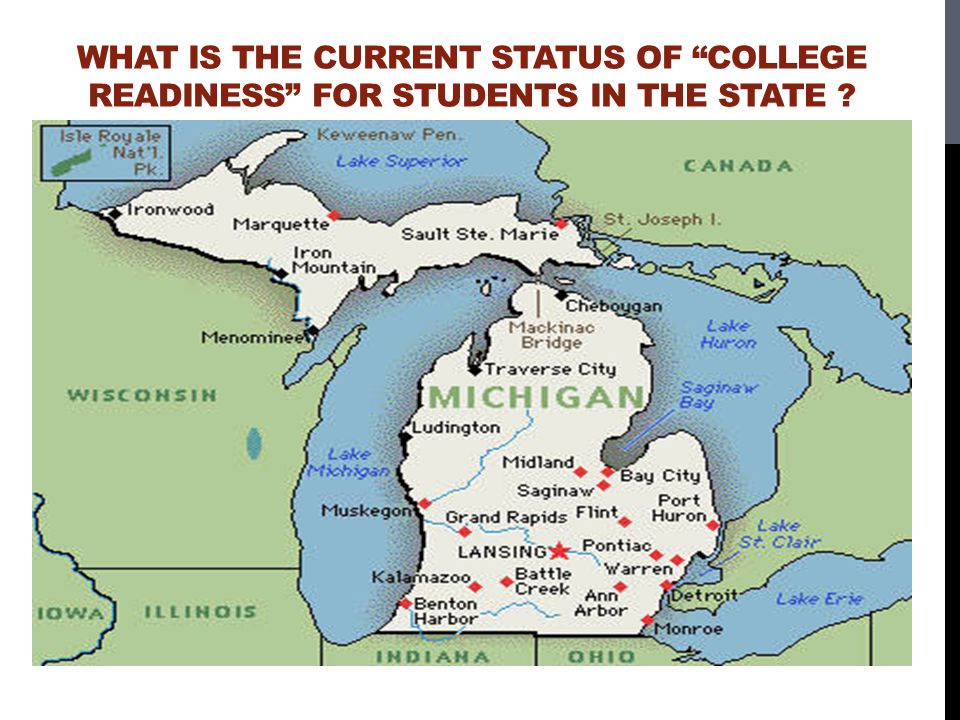 What is the current status of College Readiness for students in the state