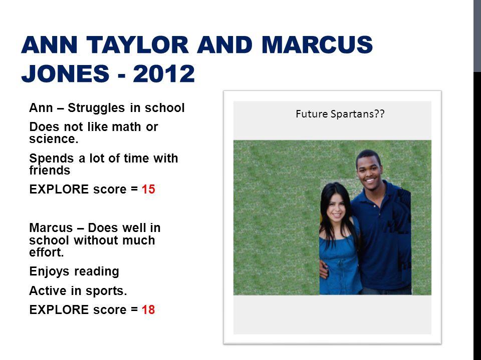 Ann Taylor and Marcus Jones - 2012