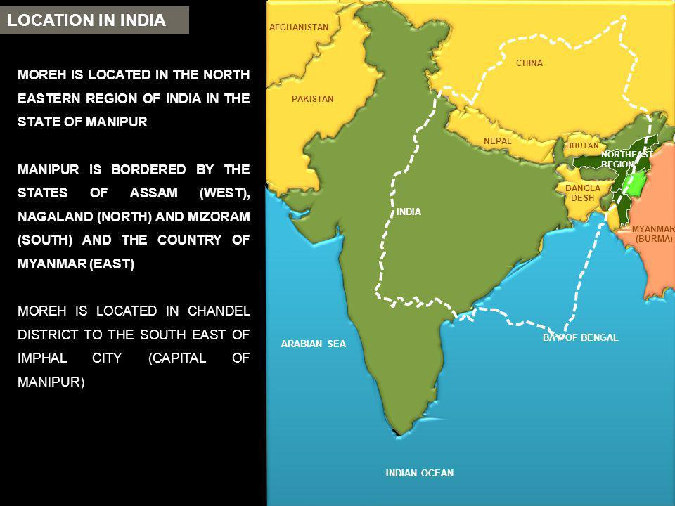 LOCATION IN INDIA MANIPUR WATER RESOURCES: