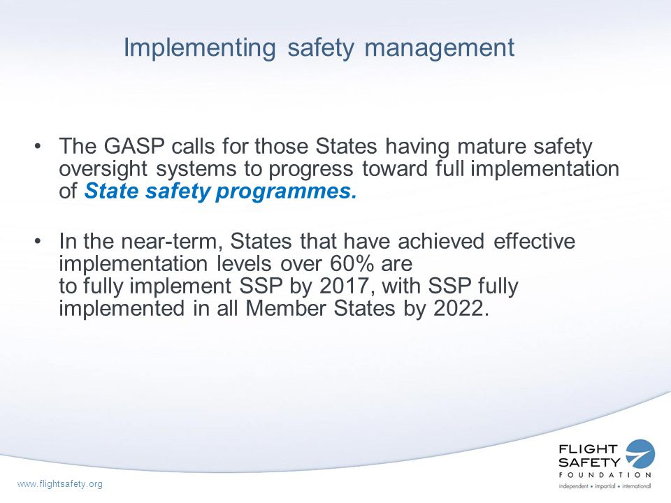 Implementing safety management