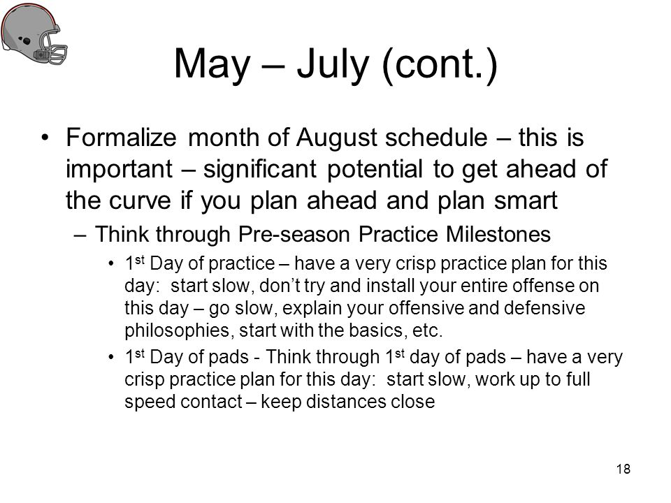 May – July (cont.)