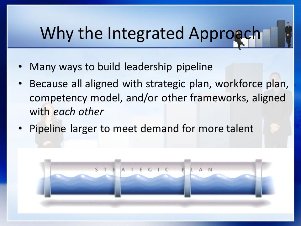 Why the Integrated Approach