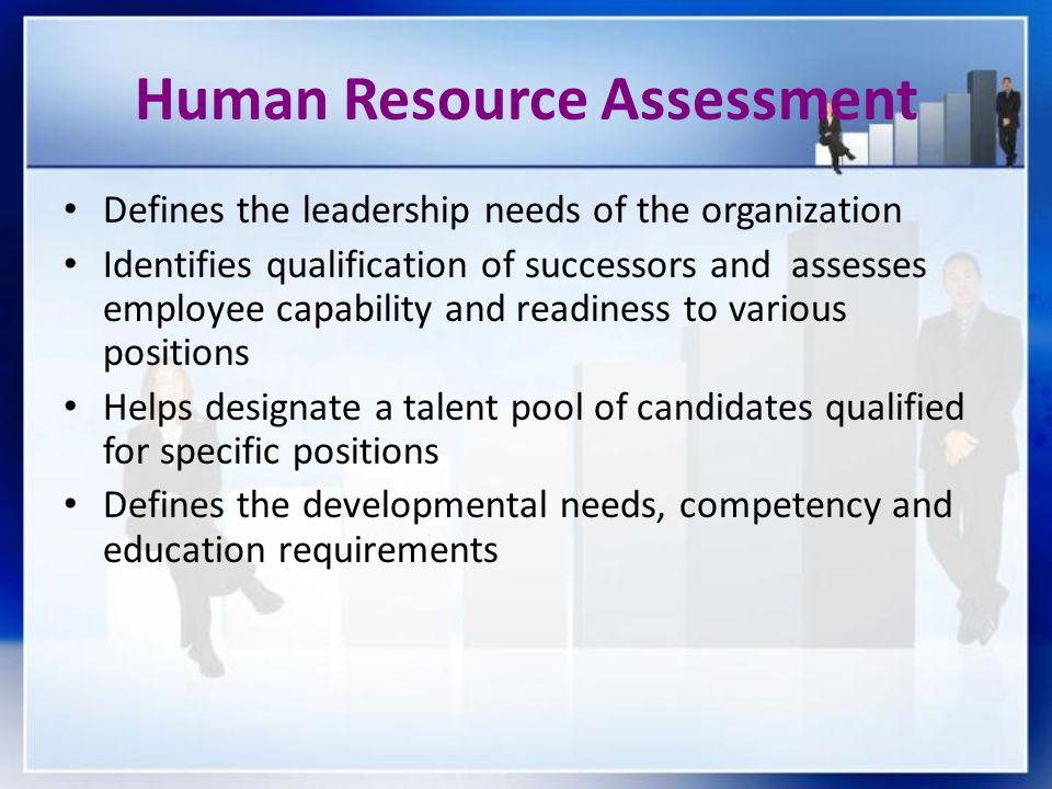 Human Resource Assessment