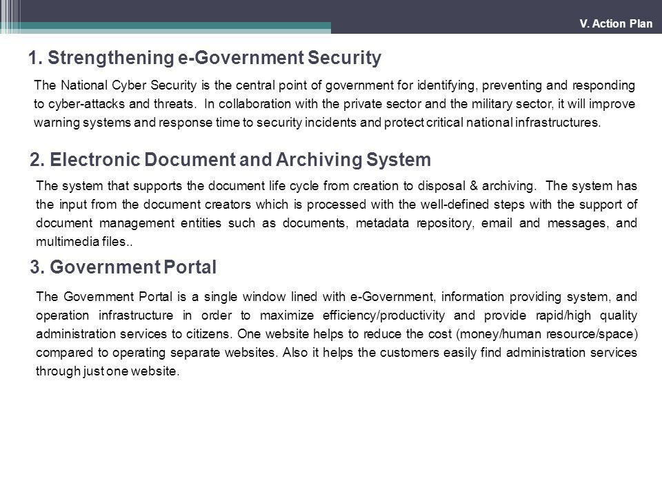 1. Strengthening e-Government Security