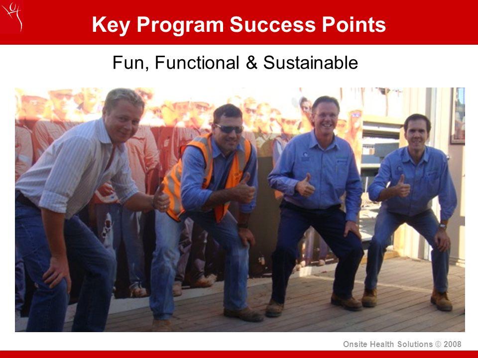 Key Program Success Points