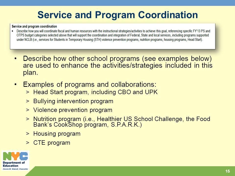 Comprehensive educational plan ppt download service and program coordination fandeluxe Images