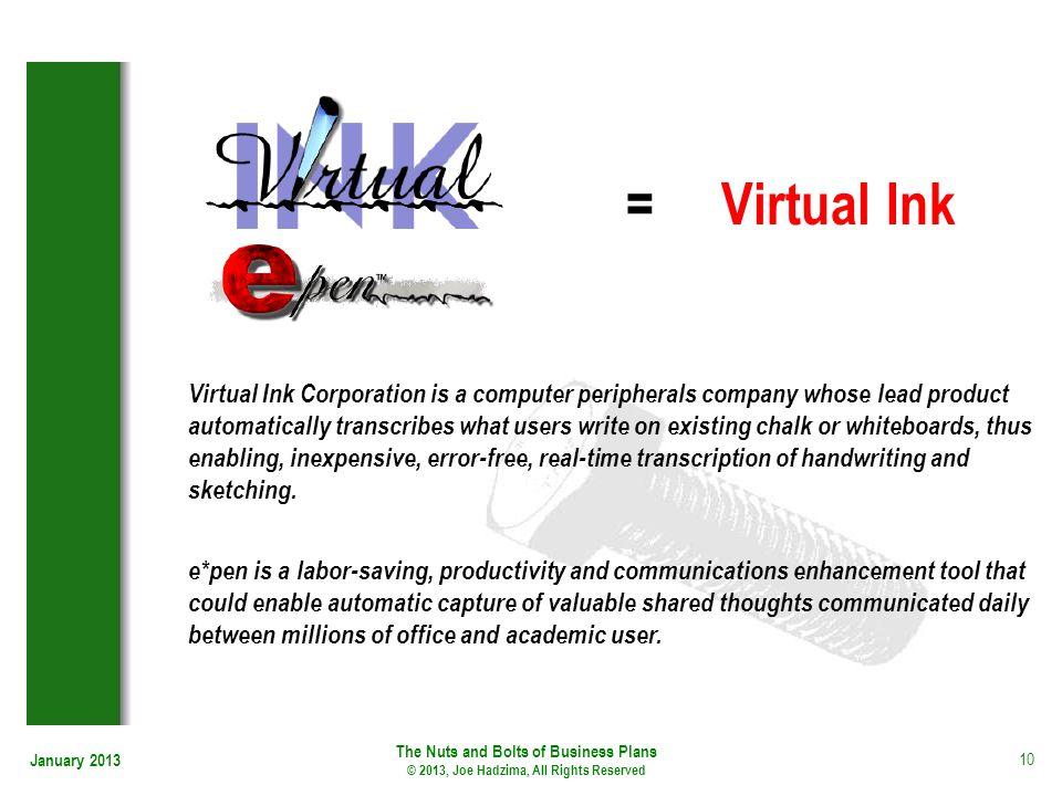= Virtual Ink